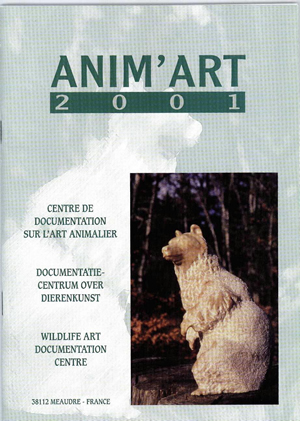 Catalogue de l'exposition ANIM'ART 2001